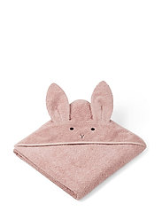 Augusta hooded towel - RABBIT ROSE