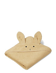 Augusta hooded towel - RABBIT SMOOTHIE YELLOW