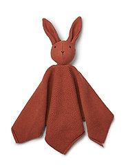 Milo knit cuddle cloth - RABBIT RUSTY