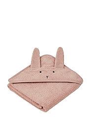 Albert Hooded Towel - RABBIT ROSE