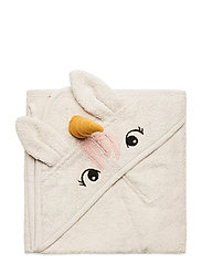 Albert hooded towel - UNICORN SANDY