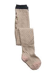 Silje lurex stockings - LITTLE DOT GOLD
