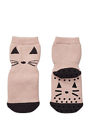 Nellie anti slip socks - CAT ROSE