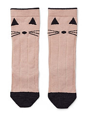 Sofia wool knee socks - CAT ROSE