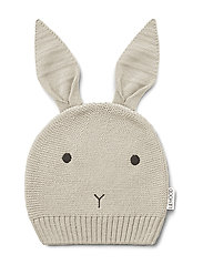Viggo knit hat - RABBIT ECRU