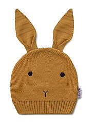 Viggo knit hat - RABBIT MUSTARD