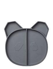 Maddox multi plate - PANDA STONE GREY