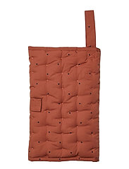 Wilma changing blanket - CLASSIC DOT RUSTY