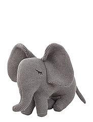Dextor knit teddy - ELEPHANT GREY MELANGE