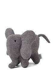 Vigga knit mini teddy - ELEPHANT GREY MELANGE