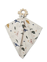 Dines teether cuddle cloth - DINO MIX