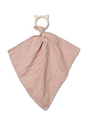 Dines teether cuddle cloth - LITTLE DOT ROSE
