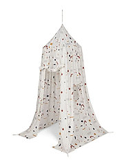 Luke canopy tent print - ABSTRACT OFF WHITE