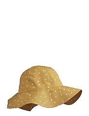 Amelia sun hat - CONFETTI YELLOW MELLOW