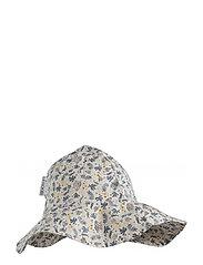 Amelia sun hat - CORAL FLORAL/MIX