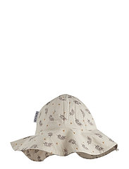 Amelia sun hat - FERN/ROSE