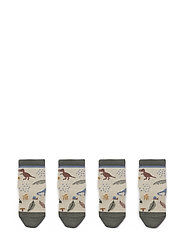 Silas cotton socks - 2 pack - DINO MIX