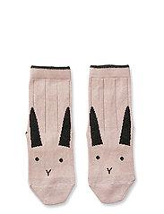 Silas cotton socks - 2 pack - RABBIT ROSE