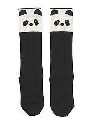 Sofia cotton knee socks - 2 pack - PANDA CREME DE LA CREME