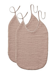Eva bib - 2 pack - ROSE