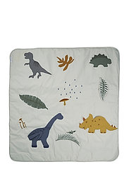 Glenn activity blanket - DINO DOVE BLUE MIX