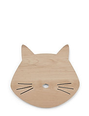 Troy wooden lamp - CAT NATURAL