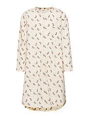 Evy Pyjamas Dress - FERN/ROSE