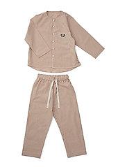 Olly Pyjamas Set - Y/D STRIPE