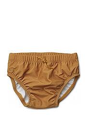 Lucas baby boy swim pants - MUSTARD