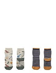Nellie Anti Slip Socks 2-Pack Sockor Strumpor Multi/mönstrad LIEWOOD