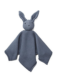 Milo knit cuddle cloth - RABBIT BLUE WAVE