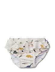 Elise baby girl swim pants - DINO MIX