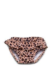 Elise baby girl swim pants - MINI LEO/CORAL BLUSH