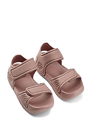 Blumer sandals - DARK ROSE
