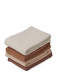 Leon muslin cloth - 4 pack - ROSE MIX
