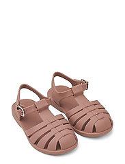 Bre Sandals - DARK ROSE