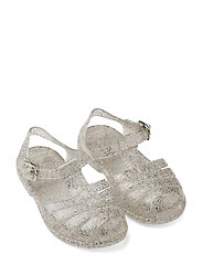 Bre Sandals - GLITTER MULTI SILVER