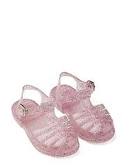 Bre Sandals - GLITTER ROSE
