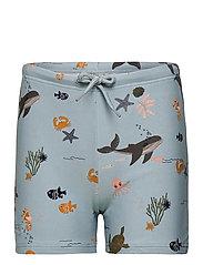 Otto swim pants - SEA CREATURE MIX