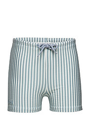Otto swim pants seersucker - Y/D STRIPE