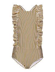 Moa swimsuit seersucker - Y/D STRIPE