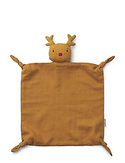 Agnete cuddle cloth - REINDEER MUSTARD