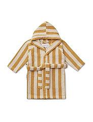 Reggie bathrobe - Y/D STRIPE