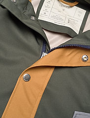 Liewood - Spencer long raincoat - jakker - hunter green multi mix - 3