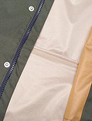 Liewood - Spencer long raincoat - jakker - hunter green multi mix - 5