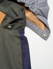 Liewood - Spencer long raincoat - jakker - hunter green multi mix - 7