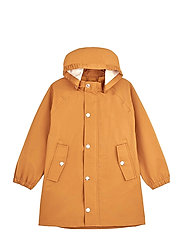 Spencer long raincoat - MUSTARD