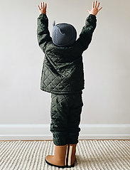 Liewood - Luna thermo set - overall - hunter green - 0