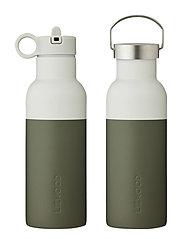 Neo water bottle - HUNTER GREEN/DOVE BLUE MIX