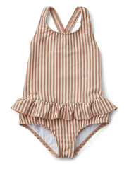 Amara swimsuit seersucker - Y/D STRIPE